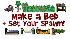 How to Make a Bed in Terraria & Set Your Spawn Point! (Crafting Recipe + Guide/Tutorial)