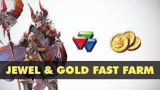 Seven Knights Asia - Jewel fodders & Gold Fast Farm