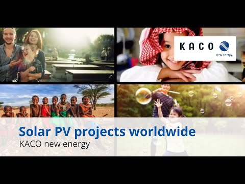 Solar PV reference projects worldwide
