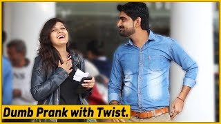 Dumb Man Selling Girls Number for Money Prank | The HunGama Films