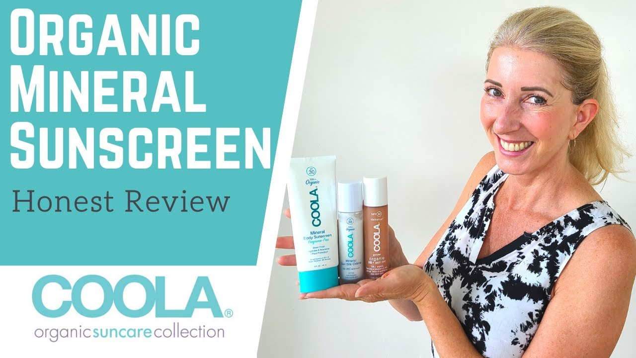 Download Best Organic Mineral Sunscreen? Honest Review of Coola Sunscreen: Non Toxic BB Cream, Face & Body