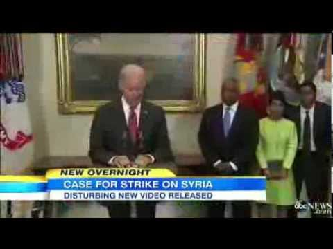 ▶ White House Intensifies Efforts to Make Case for Strike on Syria | New Disturbing Video Released