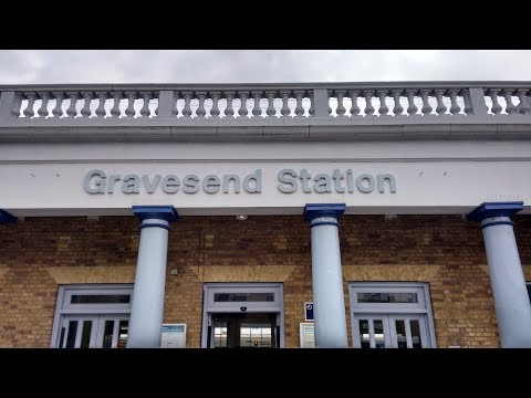 Full Journey on Southeastern from London Charing Cross to Gravesend (via Sidcup)