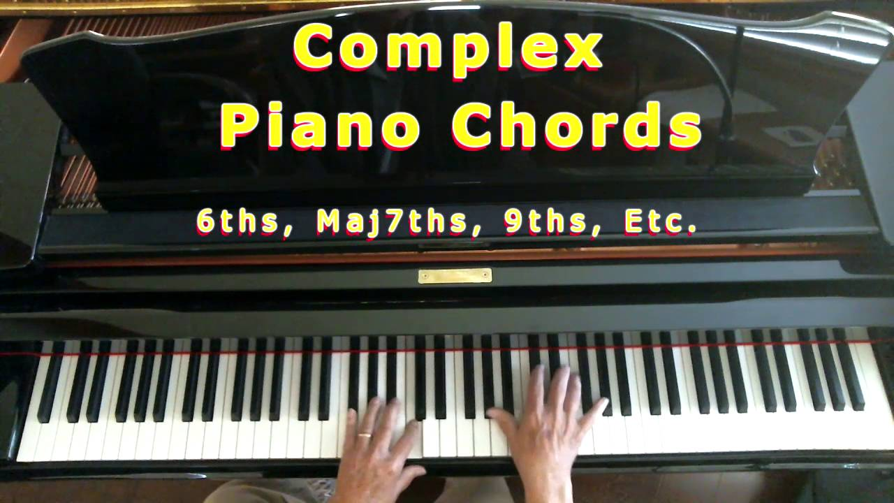 Complex piano chords youtube hexwebz Images