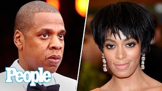 JAY-Z Finally Breaks Silence About Infamous Elevator Incident With Solange | People NOW | People thumbnail