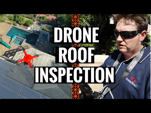 Roof Inspection with a Drone!