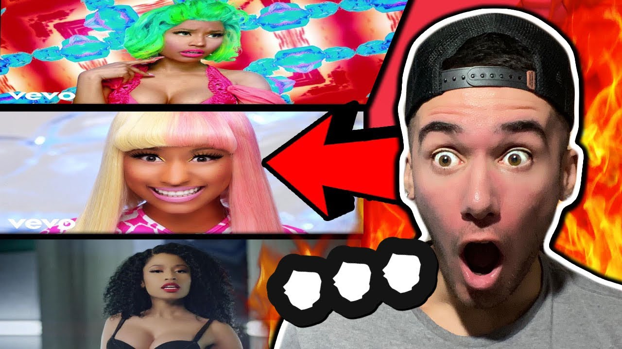 Rapper Reacts to NICKI MINAJ for THE FIRST TIME (Super Bass, Starships, Only)