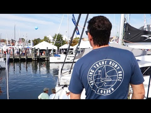 We've Finally Found The Perfect Catamaran! Annapolis Boat Show Pt 2 (Sailing Ruby Rose)