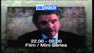 Satellite TV Channel UK Gold tv advert for forthcoming launch on the 1st of November 1992 0112