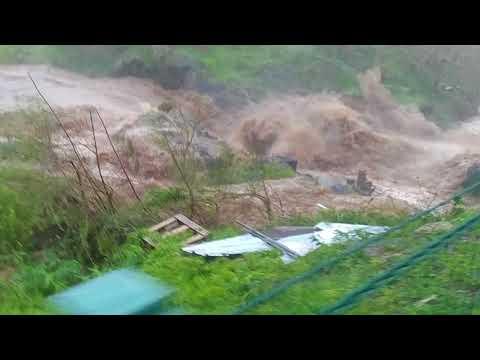Río Coamo Vista de Zambrana, huracán María