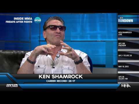 Ken Shamrock Reminisces About UFC 1 and Talks Drug Testing