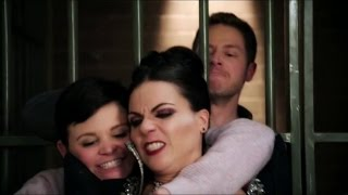 Once Upon A Time 4x10 - Evil Queen and Mary Margaret with David