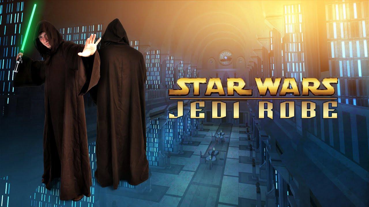 Kostümklassiker: Jedi-Robe für Meister und Padawan - YouTube