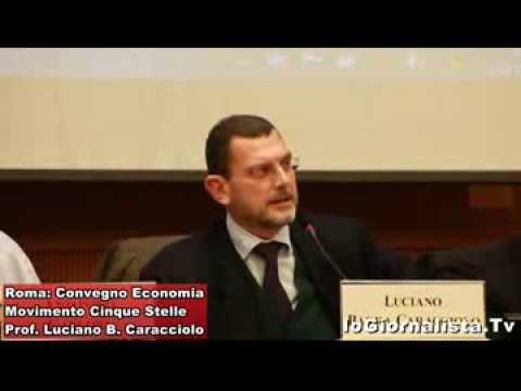 Luciano Barra Caracciolo: l'Euro è costituzionale? Convegno 5 Stelle Economia