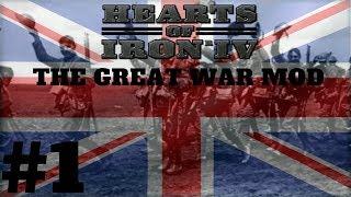 Hearts of Iron 4 - The Great War Mod(WW1) - SHOWCASE