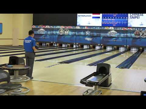 2017 World Bowling Championships - Wu Hao-Ming (TPE) in action