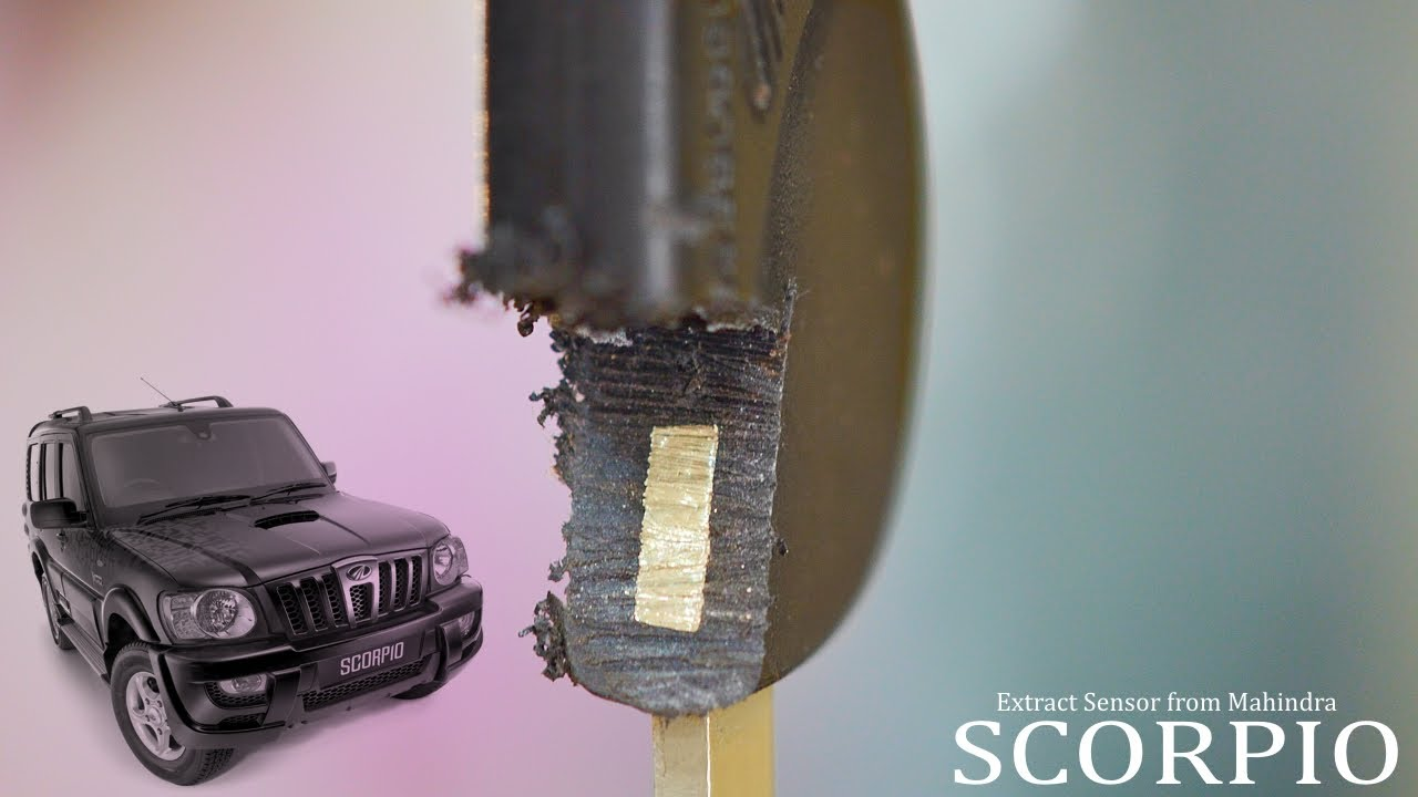 Extract sensor from Mahindra Scorpio Key