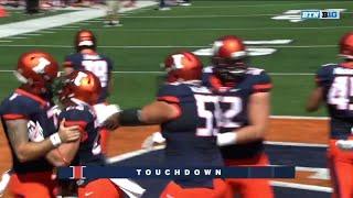 Mike Epstein Rushing TD vs. Ball State