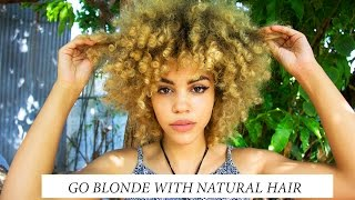 how to go blonde fast with natural hair no damage my story pictures