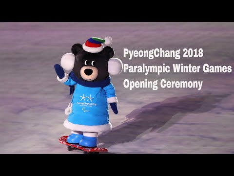 Opening Ceremony | PyeongChang 2018 Paralympic Winter Games