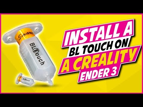 BLTouch Auto Bed Leveling Install on the Creality Ender 3