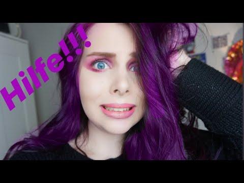 lila directions auf braunen haaren funktioniert es youtube