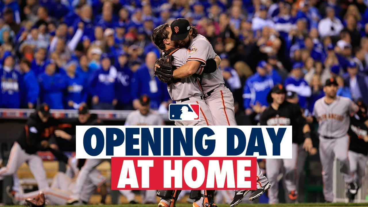 2014 World Series Game 7 (Giants vs. Royals) | #OpeningDayAtHome