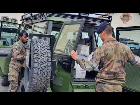 Coronavirus: 65 000 masques livrés aux EHPAD du Puy-de-Dôme par l'armée