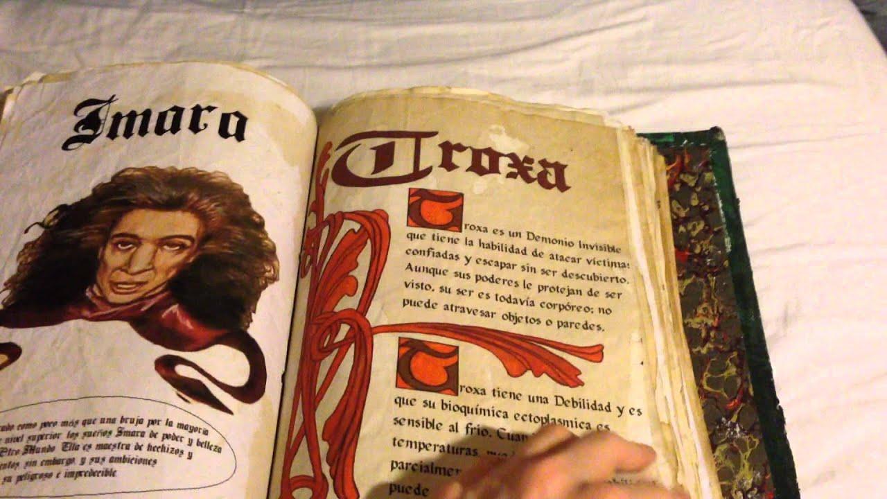 Libro De Las Sombras Embrujadas. Book Of Shadows Charmed