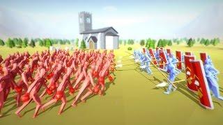 СИМУЛЯТОР ВОЙНЫ ➤Totally Accurate Battle Simulator #3 Прохождение 7,8,9 Level