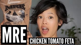 MRE Menu 5: Chicken Tomato Feta Taste Test