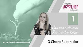 Tema 1 - Choro Reparador - Conversando com Rosana De Rosa