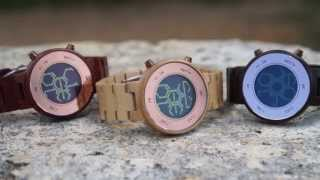 Kisai Zone Natural Wooden Watch Design From Tokyoflash Japan