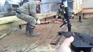 Монтаж винтовых свай(, 2019-04-21T11:45:39.000Z)