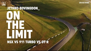 Honda NSX vs Porsche 911 Turbo vs Nissan GT-R: on the limit