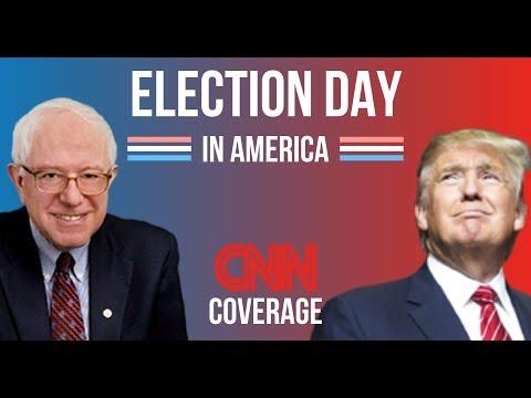 2020 Election Night | Bernie Sanders vs Donald Trump