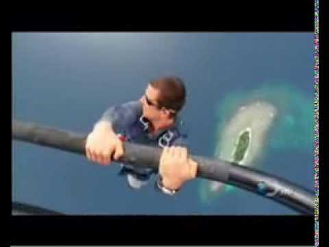 Bear Grylls Man Vs Wild Skydive Helicopter Drop Youtube