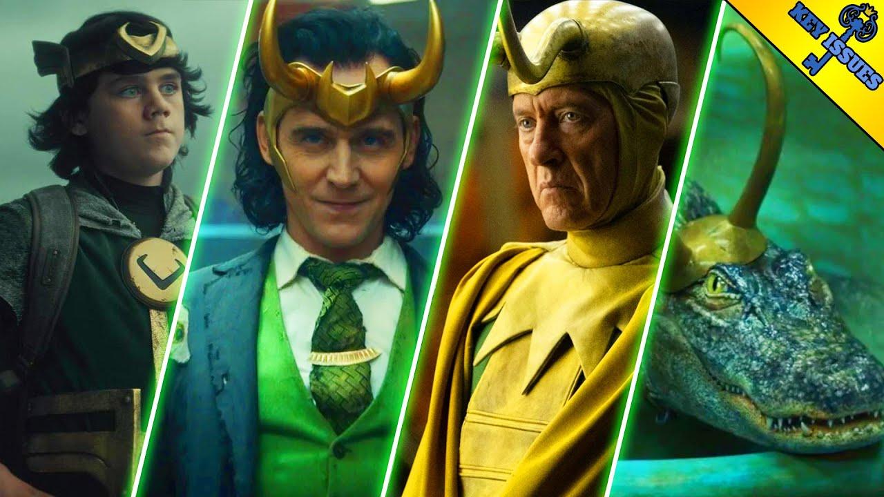 The Comic Book Origins of Every Loki Variant | Loki