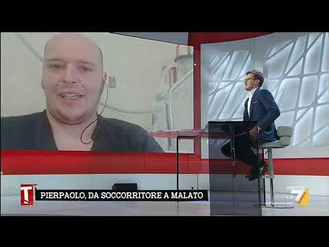"""Coronavirus, la toccante testimonianza del soccorritore Pierpaolo Zito ricoverato: """"Sto molto ..."""
