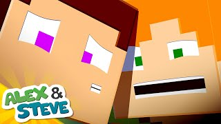 🔮 WE'RE TRAPPED IN HERE | The Minecraft Life of Alex & Steve | Minecraft Animation