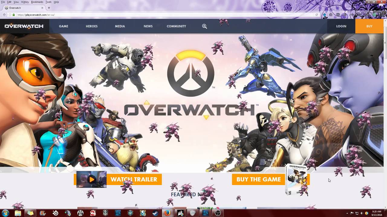 Overwatch Homepage