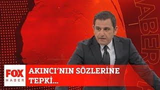 Akıncı'nın sözlerine tepki... 10 Şubat 2020 Fatih Portakal ile FOX Ana Haber