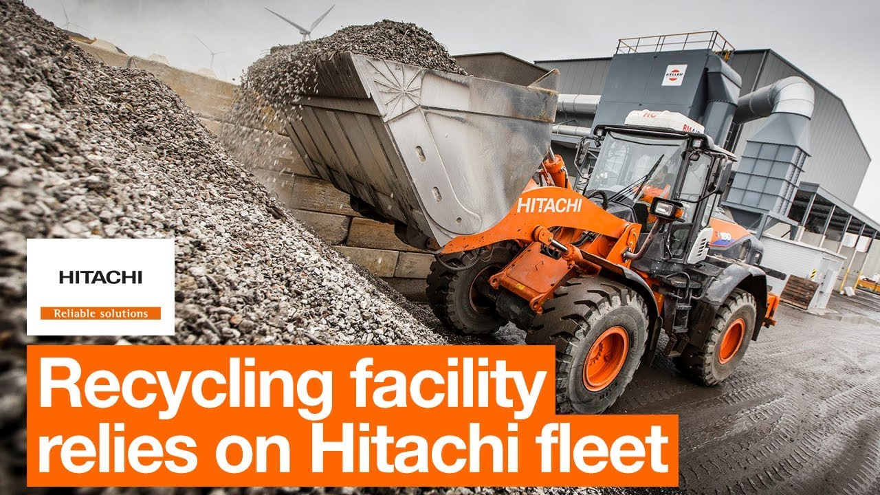 Recycling facility Heros relies on Hitachi fleet