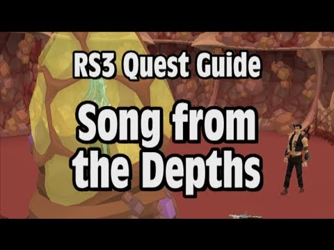 RS3: Song from the Depths Quest Guide - RuneScape