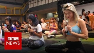 Beer Yoga  Have you got the bottle to try it? BBC News