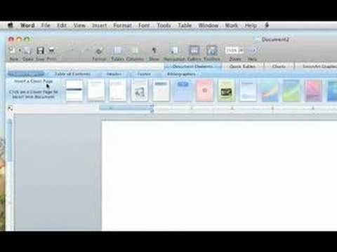 Microsoft Word 2008 for Mac - Review - YouTube