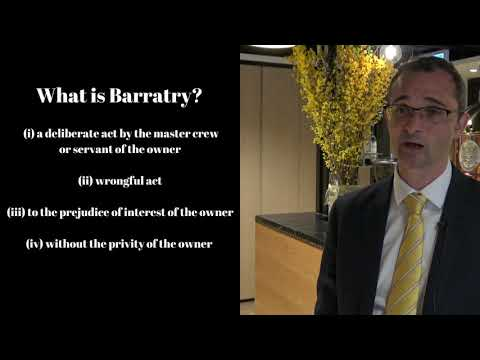 Shipping Law - What is Barratry?