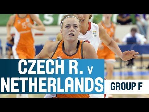 Czech Republic V Netherlands -- Group F -- 2014 U18 European Championship Women