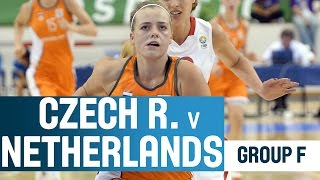 Czech Republic v Netherlands -- Group F -- 2014 U18 European Championship Women