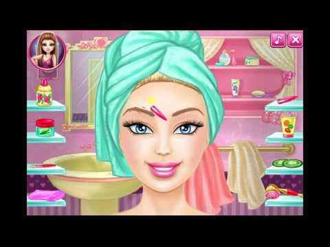 Barbie Makup Game Barbie Cartoon Games Youtube
